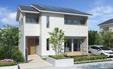 自由設計で建てる、<br>郊外型ゼロエネルギーハウス。